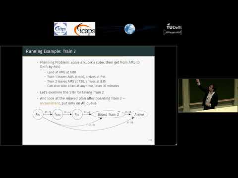 """ICAPS 2018: Andrew Coles on """"Temporal Planning while the Clock Ticks"""""""