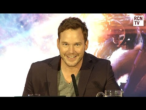 Guardians of the Galaxy Premiere Press Conference