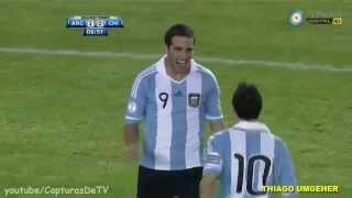 Seleccion Argentina-Gol Cali y el Dandee- Eliminatorrias Brasil 2014