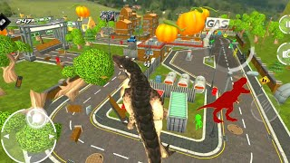 Best Dino Games - Extreme City Dinosaur Smasher 3D City Riot Android Gameplay screenshot 3