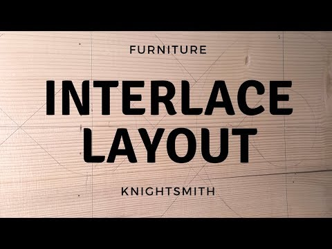 Furniture: Interlace Shelf Layout