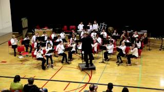 RMS Cadet Band 2012/2013 - Battle Creek March