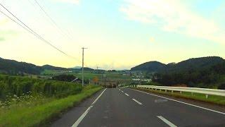【車載動画】道道985号他 富良野市山部→北の峰(抜け道)