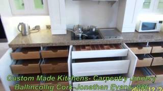 Hand  Made Fitted Furniture- Carpentry Joinery Ballincollig Cork-jonathan Evans- 086-2604787