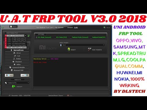 SM-G361H FRP Lock Reset By OneClick UAT FRP v3 01 Tool by