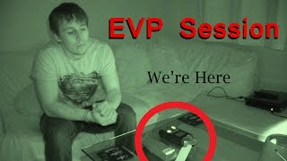amazing evp session real paranormal activity part 22