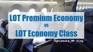LOT Premium Economy vs LOT Economy Class ✈ | Czym różnią się klasy w samolocie?