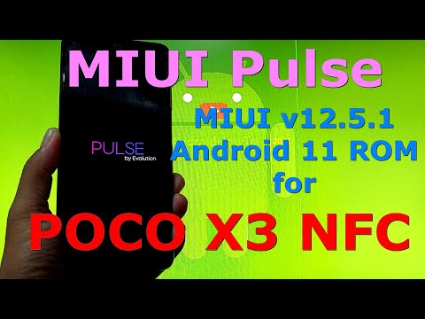 MIUI Pulse v12.5.1 for POCO X3 NFC Android 11