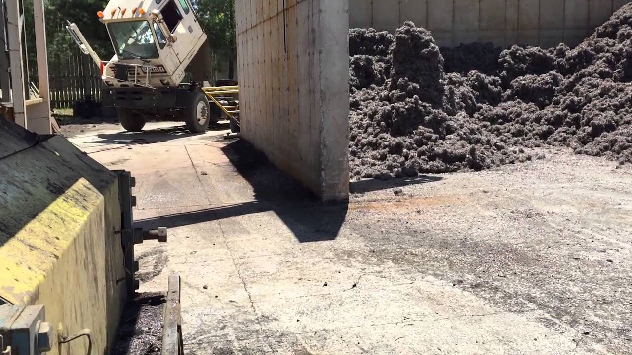 Clean wire tire shredding - YouTube