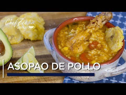 Asopao de Pollo | Dominican Chicken and Rice Soup | One Pot Recipes | Chef Zee Cooks
