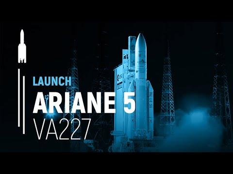 Arianespace Flight VA227 / Arabsat-6B and GSAT-15
