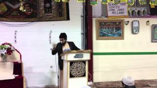 Love of Almighty Allah for His Prophet Muhammad SAW by Shaykh Umar Al-Qadri