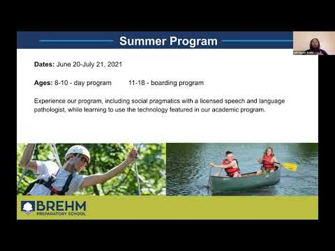 Brehm Preparatory School Summer Program: TeenLife LIVE Virtual Summer Opportunities Fair 3/25