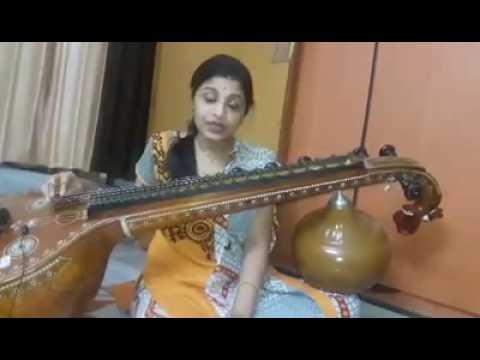 Beautiful Mayadari Mysamma song with veena
