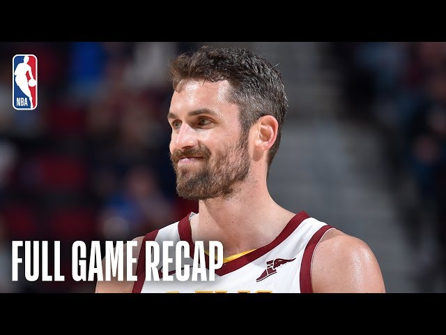 GRIZZLIES vs CAVALIERS | Kevin Love Scores Season-High 32 | February 23, 2019
