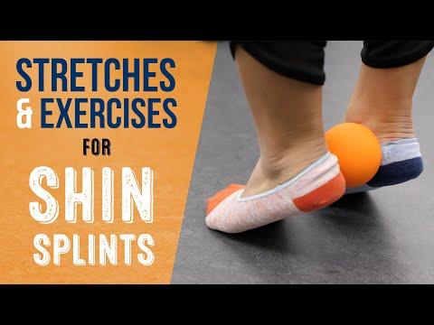 Top 3 Shin Splints Stretches & Exercises