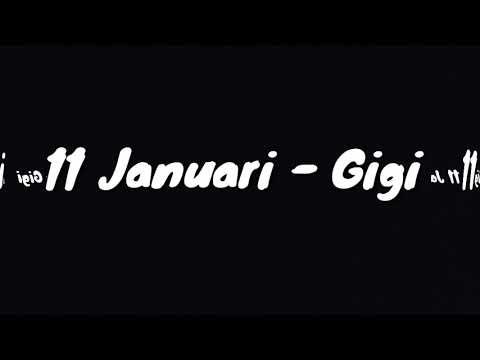 11 januari-gigi (lirik)