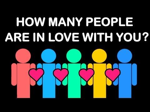 Thumbnail: HOW MANY PEOPLE ARE SECRETLY IN LOVE WITH YOU? Love Personality Test | Mister Test