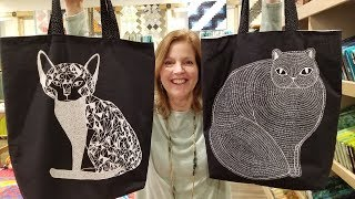 Quick and Easy Cat Tote Bag