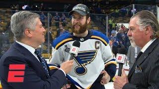 Blues' Alex Pietrangelo, MVP Ryan O'Reilly thrilled for winning 1st Stanley Cup   NHL on ESPN