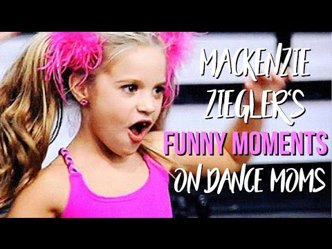 Mackenzie Ziegler's Funny Moments on Dance Moms