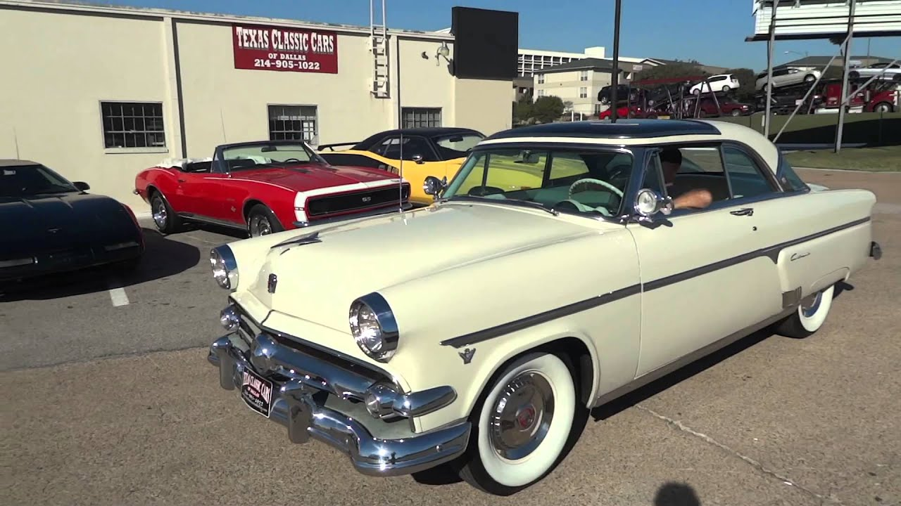1954 Ford Crestline Skyliner Glass Top Classic - YouTube