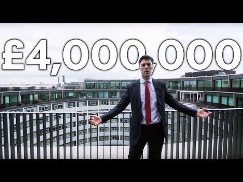 London Apartment Tour: Inside A £4 Million Luxury Duplex At The BBC Television Centre