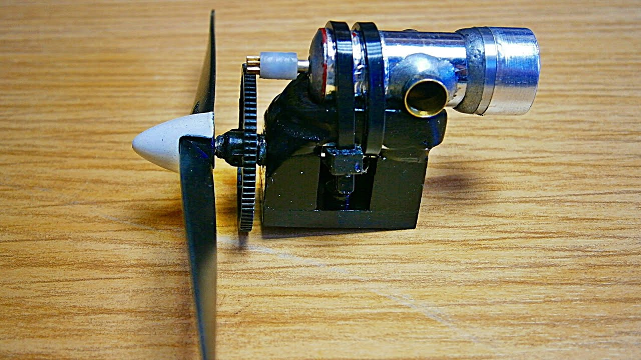 Micro Turboprop Engine Demo Internal & External Parts