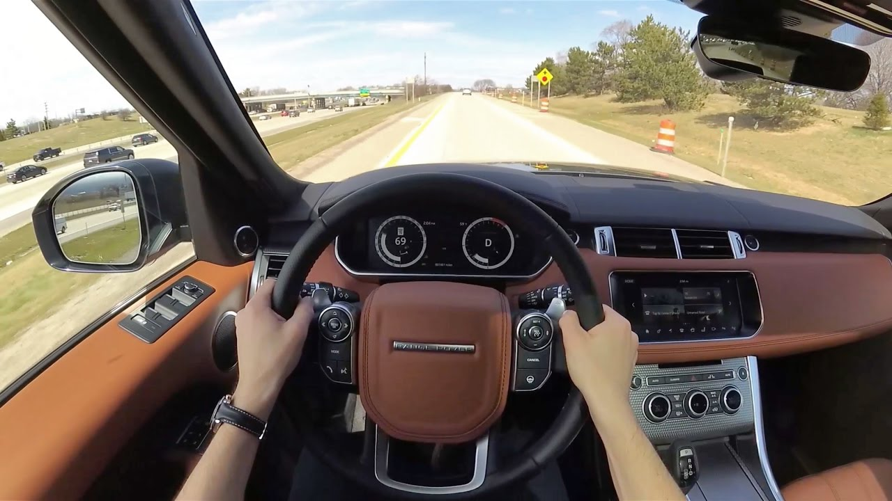 Range Rover Autobiography >> 2017 Range Rover Sport V8 Supercharged Autobiography - POV First Impressions (Binaural Audio ...