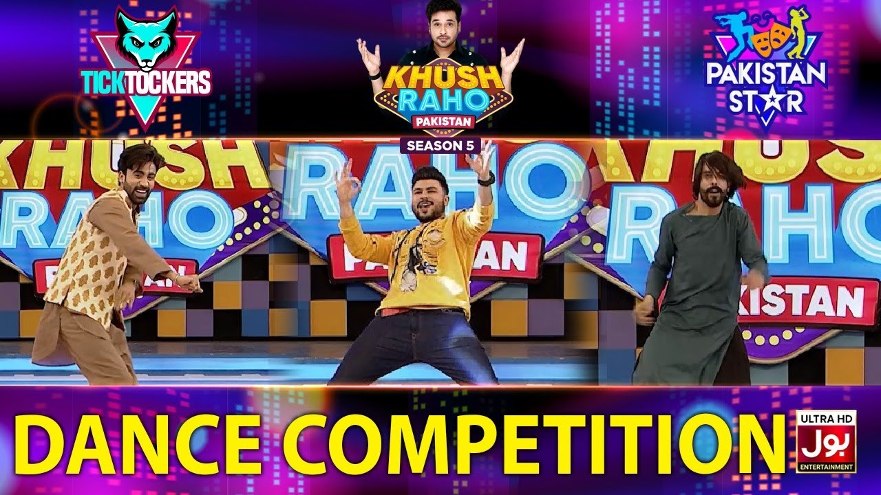 Dance Competition In Khush Raho Pakistan Season 5 | Tick Tockers Vs Pakistan Star | Faysal Quraishi
