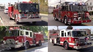 Fire Trucks Responding Old Vs New Apparatus Part 35