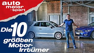 Downsizing, Turbo & Co: Die 10 größten Motor-Irrtümer - Bloch erklärt #65 | auto motor und sport