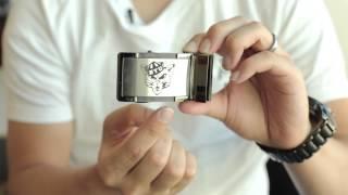 ZipBelt: A Men's No Holes, Adjustable & Customizable Belt