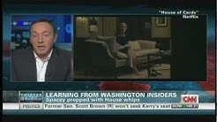 "Kevin Spacey ""House of Cards"" Interview with Wolf Blitzer & Kate Bolduan (February 1, 2013)"