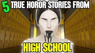 5 TRUE High School Horror Stories! - Darkness Prevails