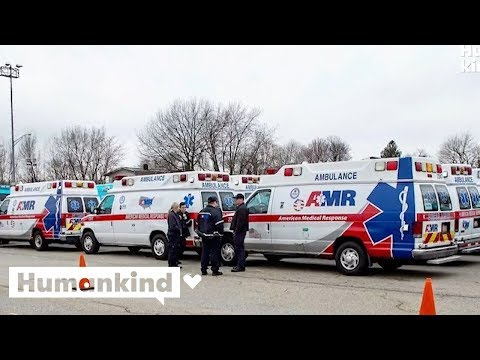 Hundreds of ambulances and EMTs answer NYC's calls for help, From YouTubeVideos