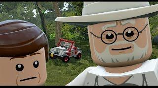 LEGO Jurassic World - All Cutscenes