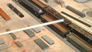 Model Railroad Tips: How to Make your Own Gondola Loads & Save Money!