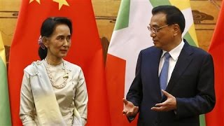 Contested Dam Project on Suu Kyi's Agenda in China