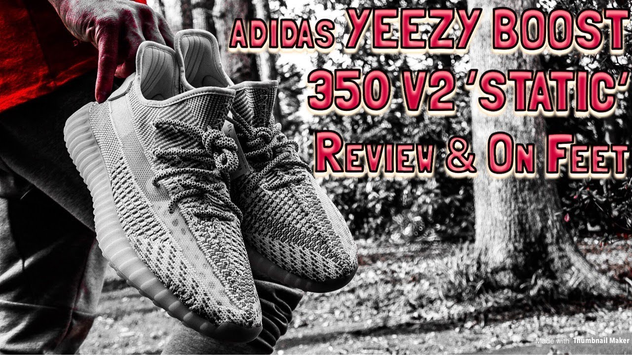 3131c399ee331 ADIDAS YEEZY BOOST 350 V2 STATIC REVIEW   FIRE ON FEET!! - YouTube
