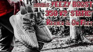 c897b53699b16 ADIDAS YEEZY BOOST 350 V2 STATIC REVIEW   FIRE ON FEET!