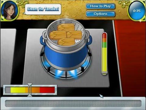 เกมส์ทำอาหาร ข้าวไส้เนื้อห่อใบข้าวโพดนึ่ง(ทามาเล่) - Tamale Mexican food Cooking Game  타 말레,タマレ