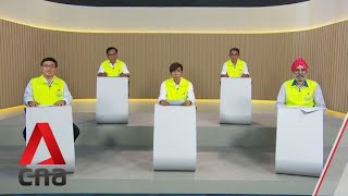 GE2020: SDA Candidates For Pasir Ris-Punggol GRC Speak In Constituency Political Broadcast, Jul 6