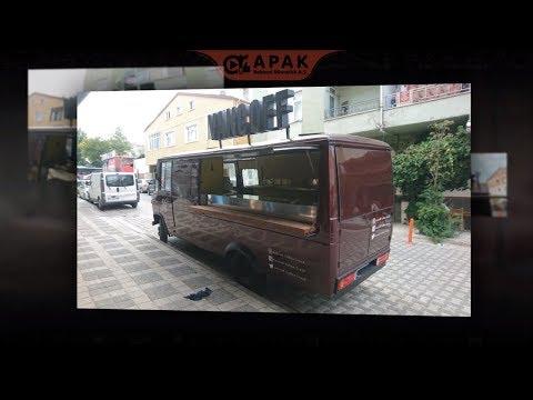 Apak Reklam Mobil Cafe Aracı Vancoff Coffee Truck - Mobile Cafe Tool Vancoff Coffee Truck Vehicle Ad
