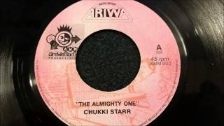 "Chukki Star - The Almighty One - Ariwa 7"" w/ Version"