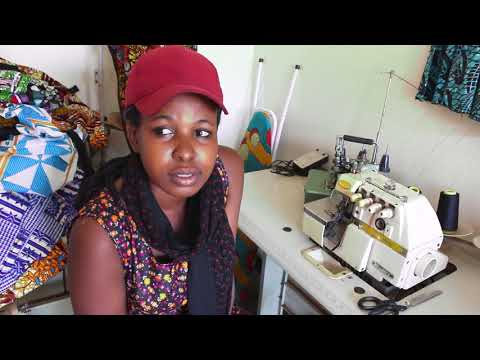 Veronica - Tailoring and Fashion Design Program Graduate - Yimba Uganda