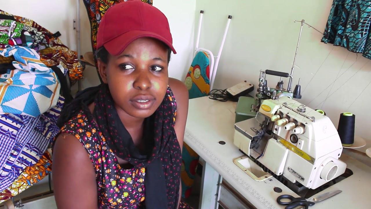 Veronica Tailoring And Fashion Design Program Graduate Yimba Uganda Youtube