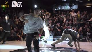 Gun Smoke Breakers vs Found Carnival | Freestyle Session 2015 x UDEFtour.org | Semi | Strife