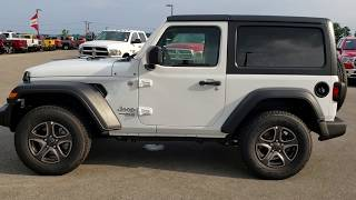 SOLD! 8J439 2018 JEEP WRANGLER JL SPORT S REVIEW TWO DOOR FOND DU LAC WISCONSIN  www.SUMMITAUTO.com