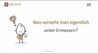 Jura2Go - Ermessen ► juracademy.de